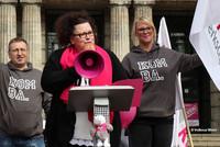 Sandra van Heemskerk, stellvertretende Vorsitzende der komba gewerkschaft nrw, in Wuppertal (Foto: © Volkmar Weiss)