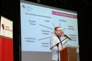 Organisationsreferent Benjamin Kinkel (Foto: © komba nrw)