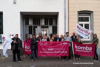 Solidaritätsstreik in Krefeld (Foto: © komba Ortsverband Krefeld)